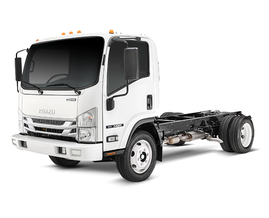Isuzu NQR Truck with Gas Engine