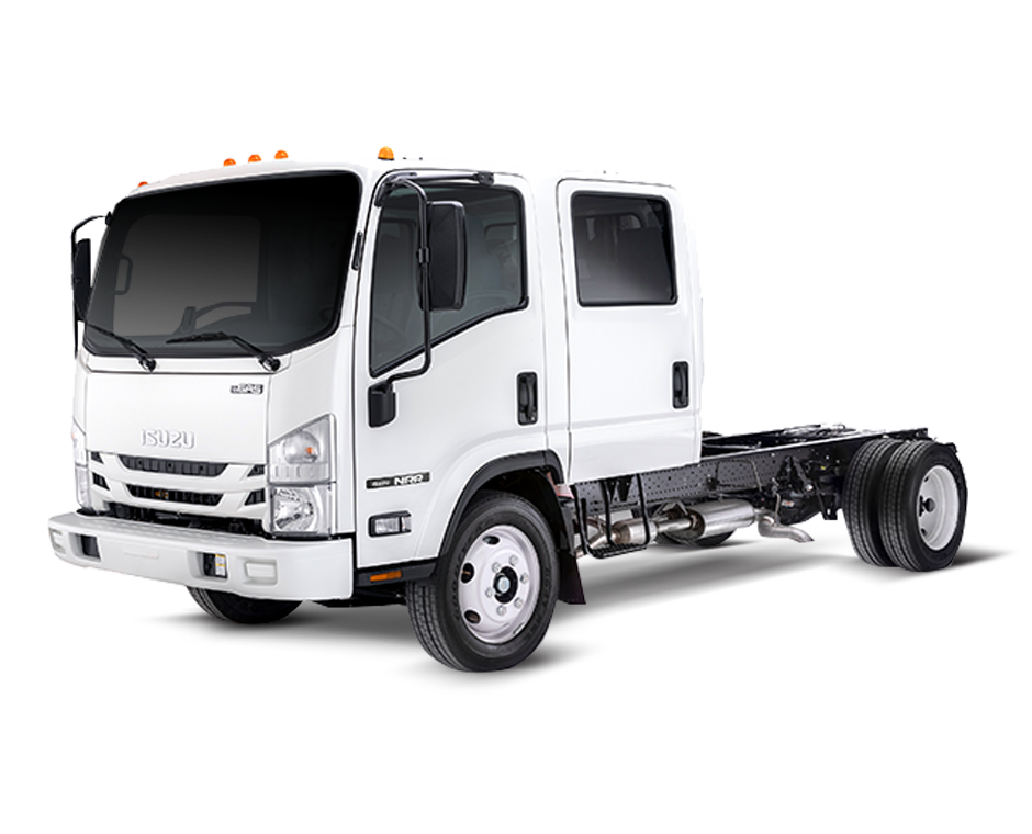 Isuzu NRR Truck with Gas Engine